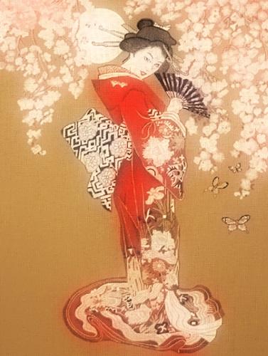 Cherry petals