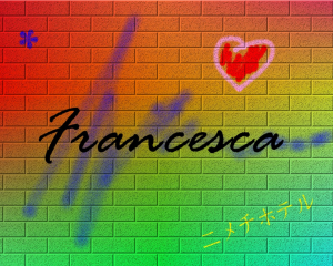 Francesca wallpaper Murales - 1280x1024