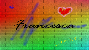Francesca wallpaper Murales - FULL HD 1920x1080