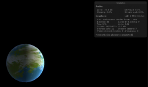 earth-like planet shader