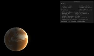 Mars planet shader