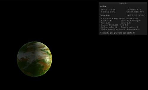Namek planet shader