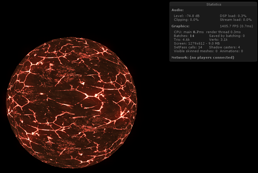 Here it's my star shader!