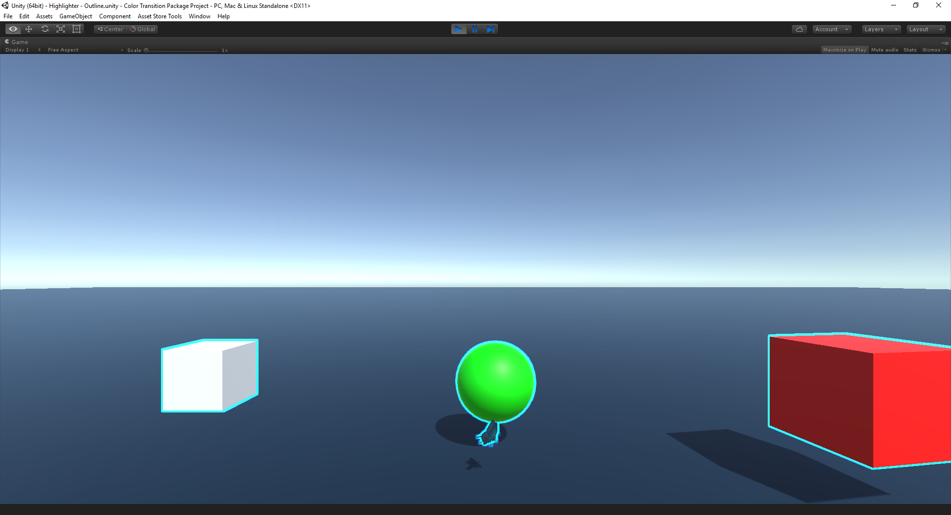 Unity Vr Outline Shader
